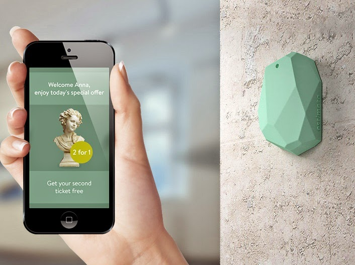 iPhone gets a museum promotion from an iBeacon.