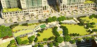 Community Park at The Maridien at High Street South Block
