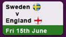 England vs Sweden