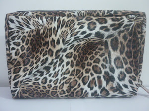 Bank book Organizer HP LEOPARD Coklat