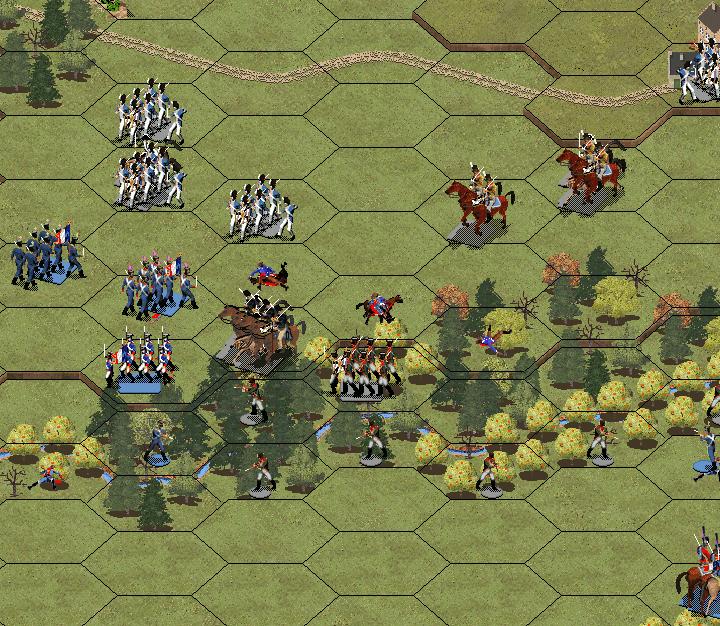 Атака Саксонских гусар