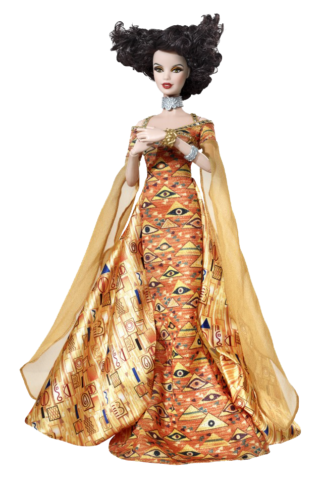 Barbie Doll Inspired by Gustav Klimt