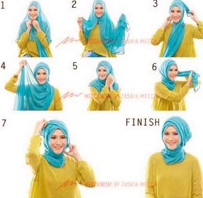 Tutorial Hijab Untuk Wisuda