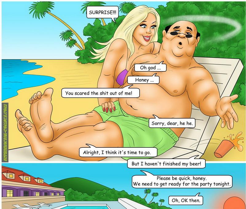 изменила в отпуске порно