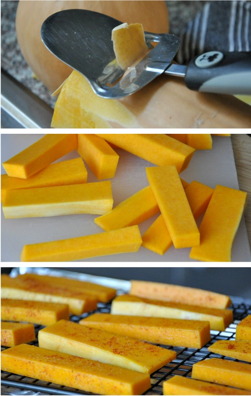 zesty butternut squash cheese fries with jalapeno tutorial