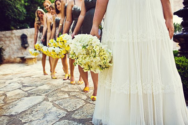 Yellow Weddings Daily style