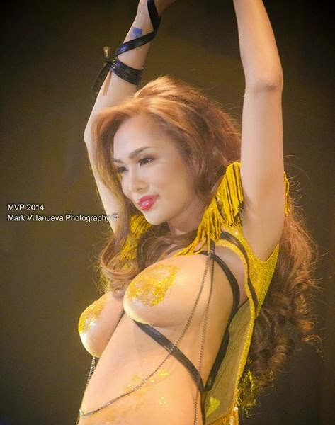 jahziel manabat at fhm victory party 2014