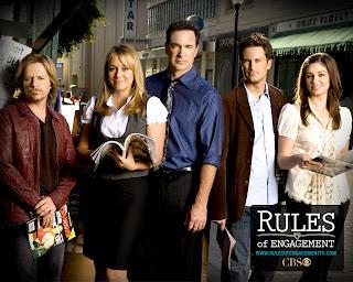 Patrick Warburton, Megyn Price, Oliver Hudson, Bianca Kajlich, David Spade, Rules of Engagement, CBS