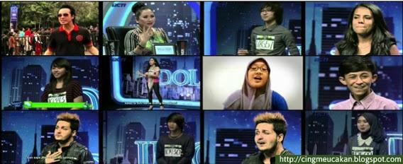 15 Peserta Indonesian Idol Bandung Mendapatkan Golden Tiket