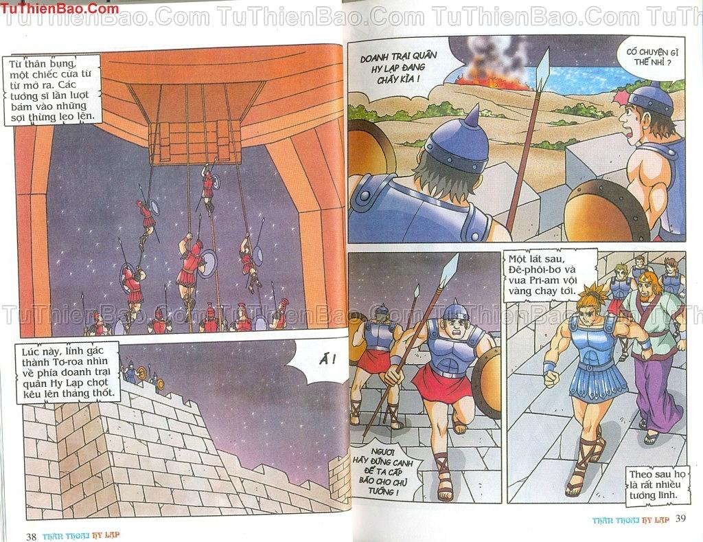 Thần thoại Hy Lạp Chapter 14 - Trang 18