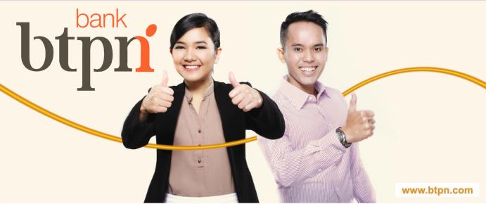 Lowongan Kerja di Bank BTPN – Area Semarang, Kudus, Pati, Purwodadi, Tegal, Pemalang, Pekalongan, Solo, Klaten, Yogyakarta, Magelang, Kebumen, Purwokerto dan Cilacap