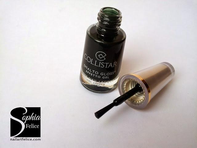 collezione Collistar Bellezza Italiana - smalto gloss effetto gel Verde Paola n°588_04