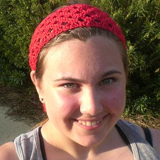 Ravelry: Summer Wheat Lace Headband pattern by Cirsium Crochet