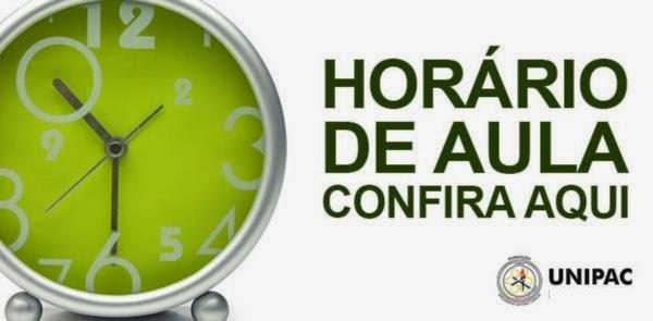 HORÁRIOS 2018/1 - INTEGRAL