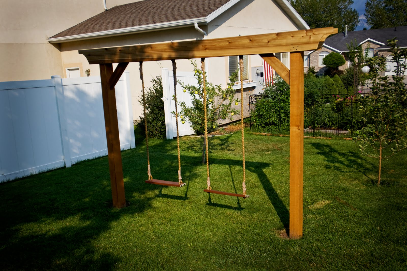 pergola swing set plans pdf woodworking. Black Bedroom Furniture Sets. Home Design Ideas