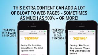 Tăng tốc độ duyệt web trên iPhone lên đến 500% cực hiệu quả