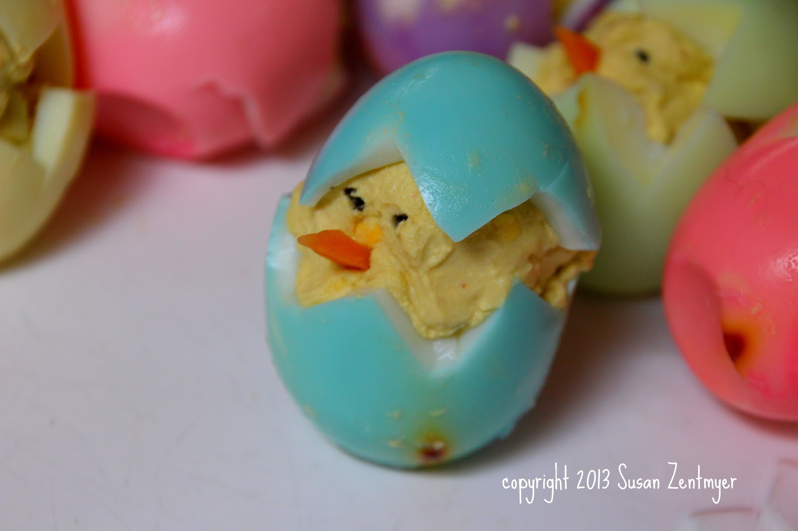 Love from the Kitchen: Easter Deviled Chicks