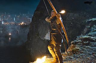 Bronn enciende el pebetero