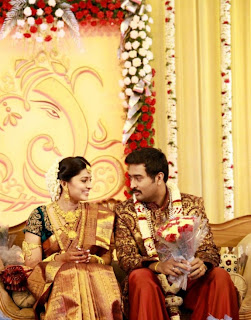 Sneha and Prasanna Wedding Reception Ceremony
