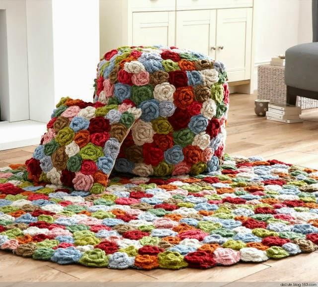 Innovart en crochet hogar en crochet for Decoracion hogar a crochet