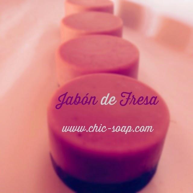 Jabón de Fresa1