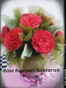 Tempahan Jambangan Rose RM100 [ 10pcs cupcake]