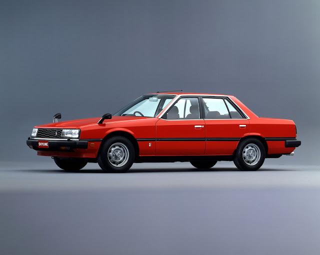 Nissan Skyline, R30, japoński sportowy samochód, lata 80, RWD