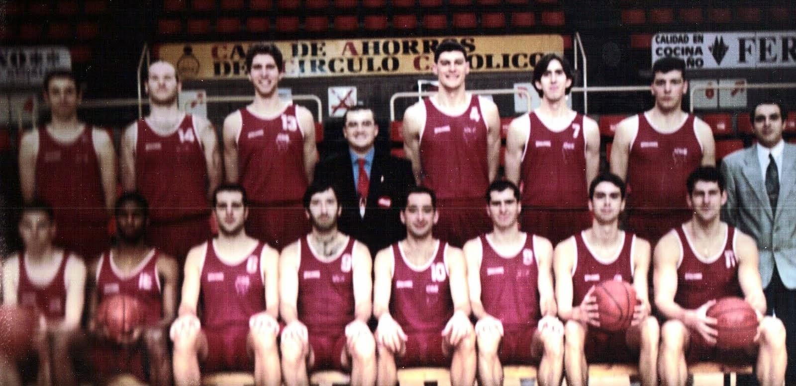 ESPOLON BURGOS 1995-1996. Liga EBA