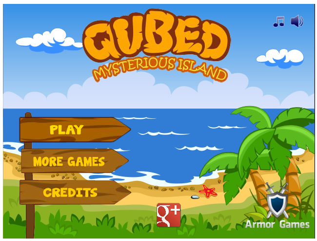 Armor Game : Qubed - Mysterious Island