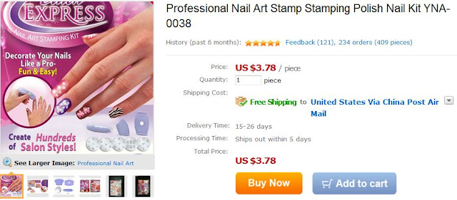 Qtepiee88 Inc Nail Stamp Kit Under 5 Video Review