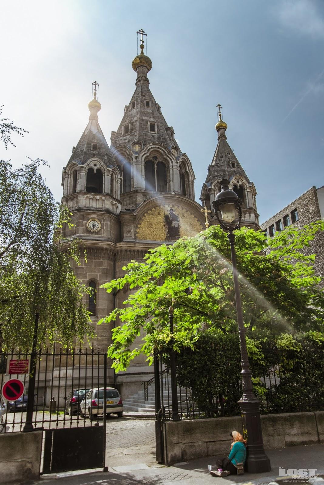 Церковь Александра Невского во Франции