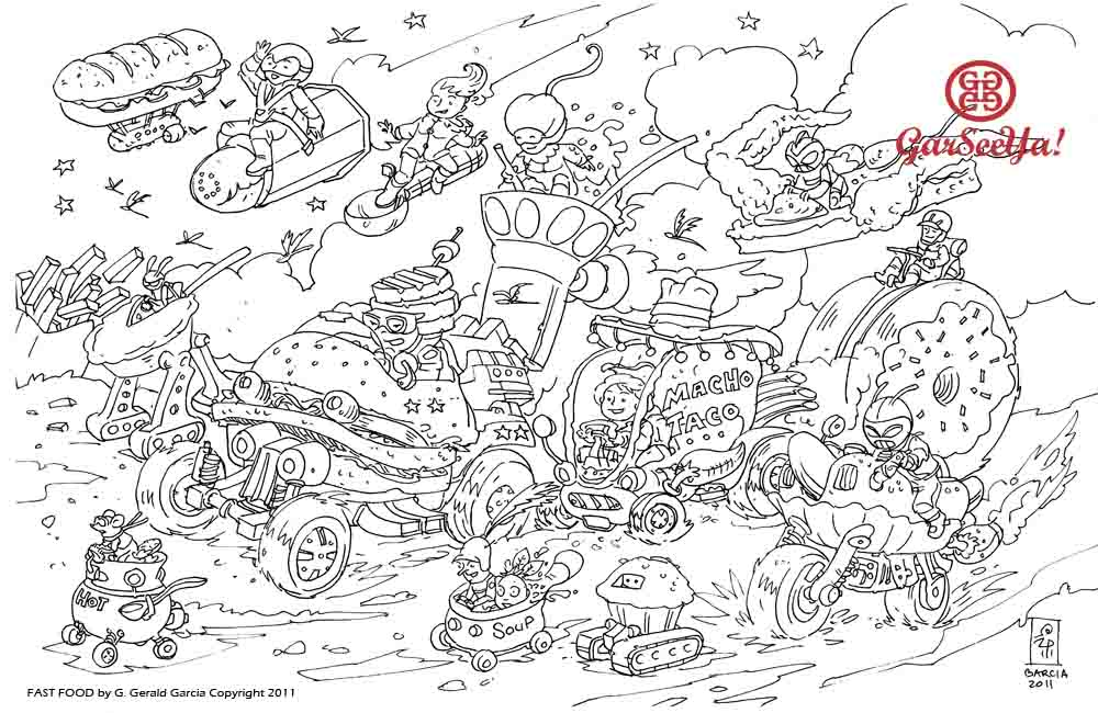 wacky racers coloring pages - photo #41