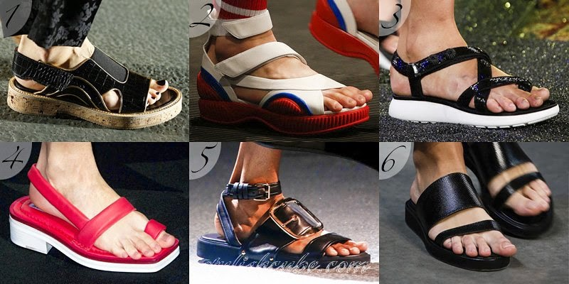 Summer 2014 Women's Sandals Fashion Trends