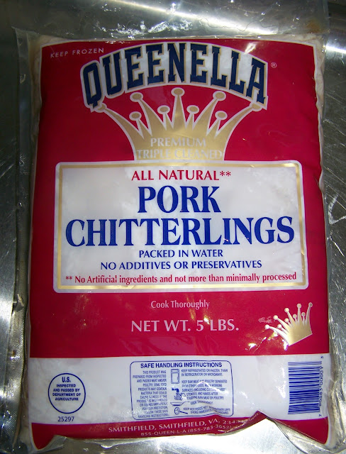 how to clean and cook chitterlings