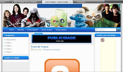 template wordpress 3 Colunas gratis