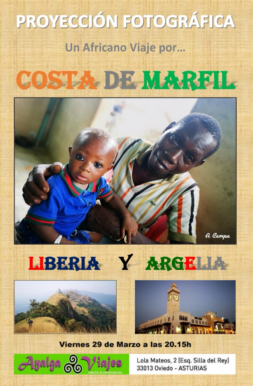 COSTA DE MARFIL, LIBERIA Y ARGELIA