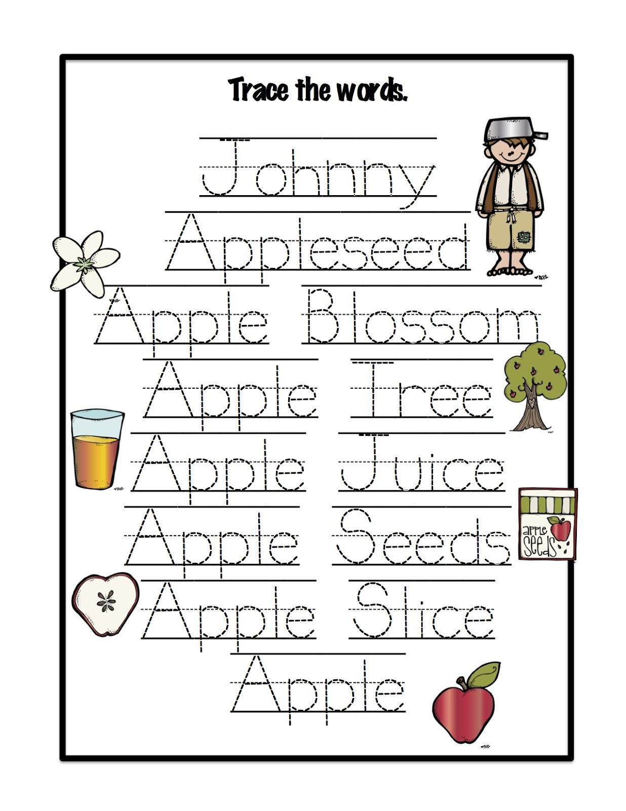 Free Worksheet Johnny Appleseed Worksheets print johnny appleseed printables related keywords suggestions printable worksheets mini book