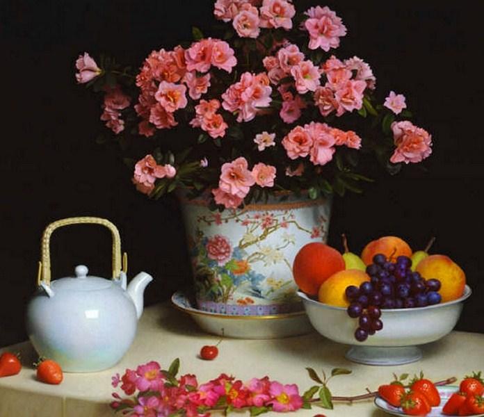 Soluciones para el hogar y el amor fruteros y frutas en for Mesa frutero cocina