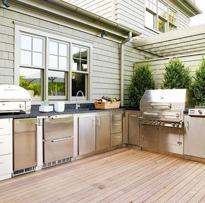 foto de cocina en el patio