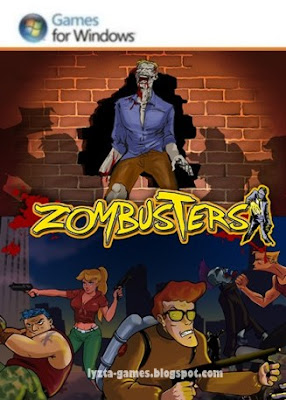 Zombusters PC Cover