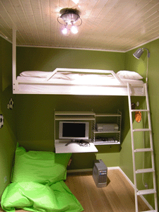 Decoraci n de interiores camas juveniles peque os espacios - Decoracion de interiores dormitorios pequenos juveniles ...