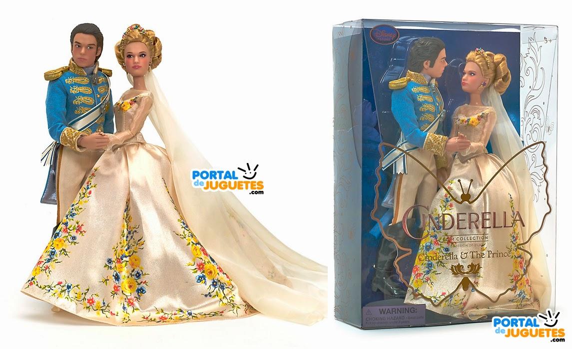 set boda cenicienta principe azul cenicienta disney store caja
