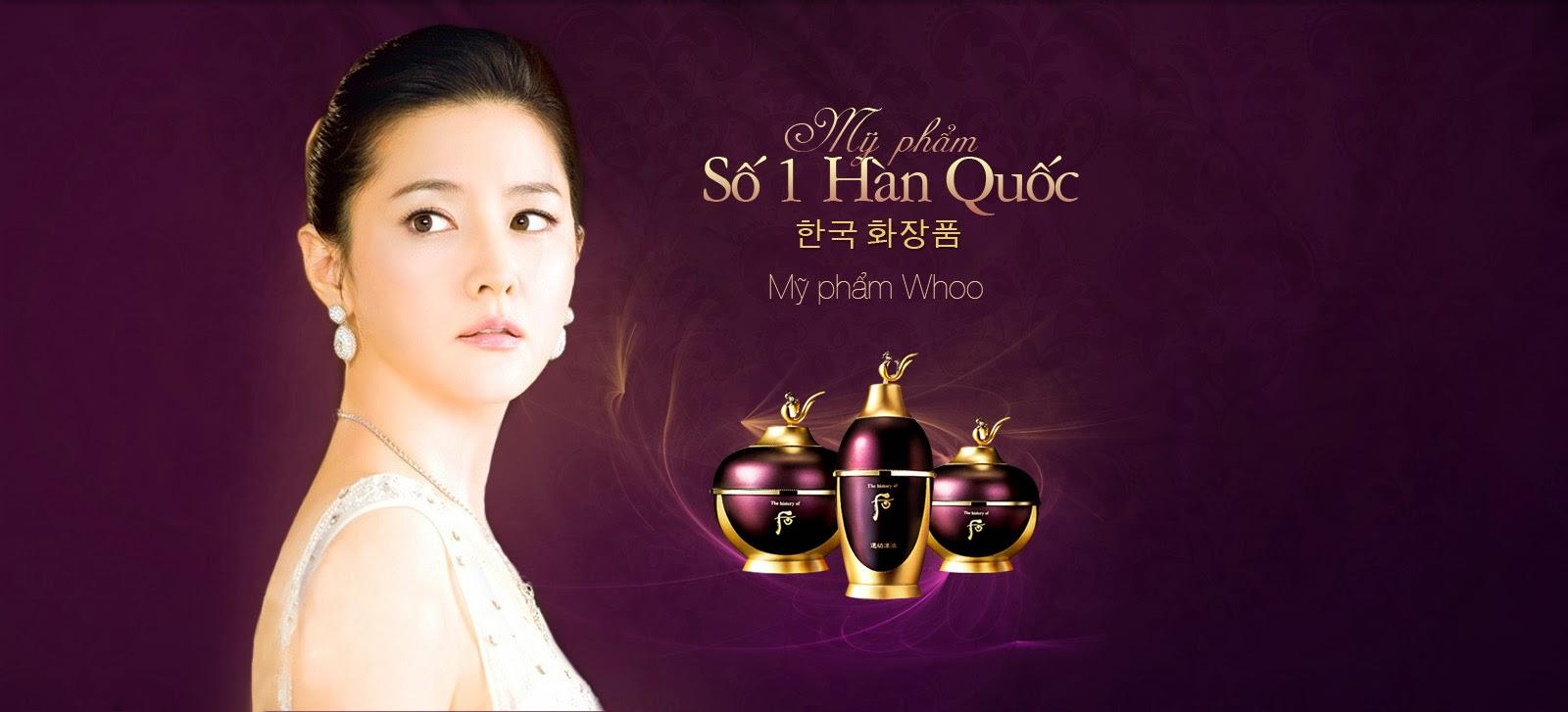 Mỹ phẩm Ohui Whoo Hàn Quốc Banner 1