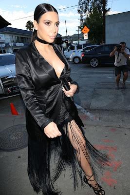 Kim Kardashian Style – Craig's Restaurant in West Hollywood, July 2015