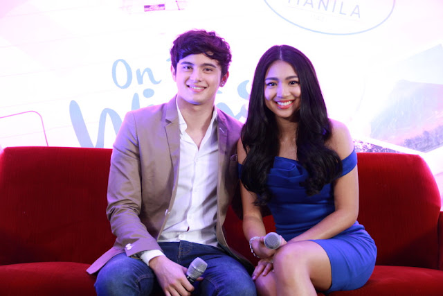 James Reid and Nadine Lustre at OTWOL Media Day