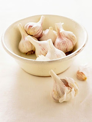 Erase earaches with garlic