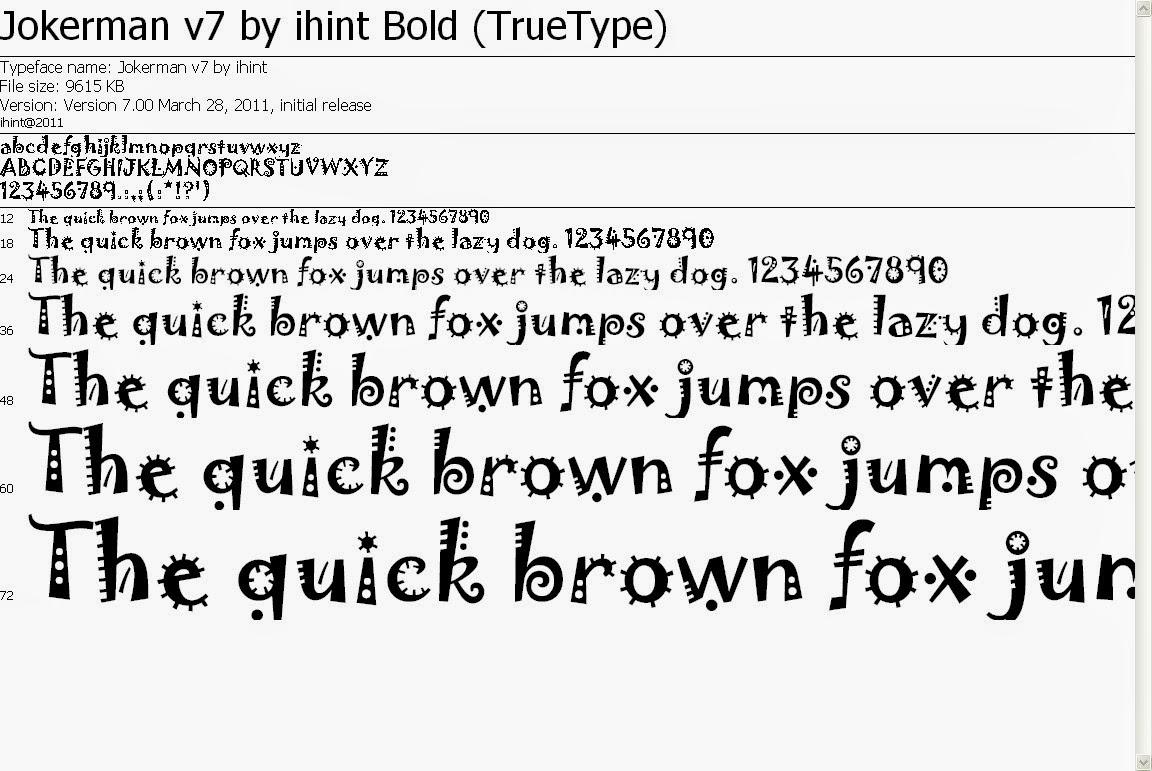 Download Font Ttf Unicode Terbaru