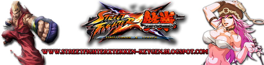 Street Fighter X Tekken Keygen