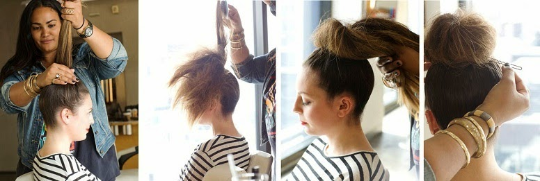 Top Knot Proces