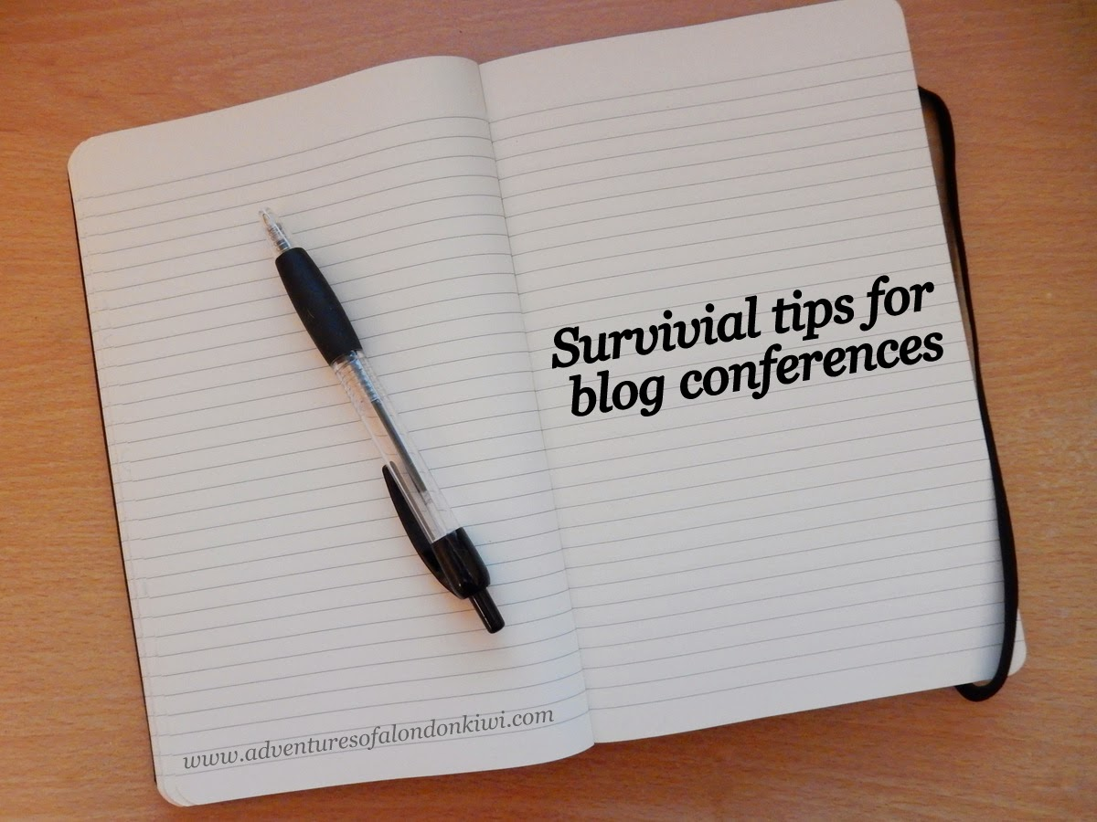 How to survive a blog conference weekend